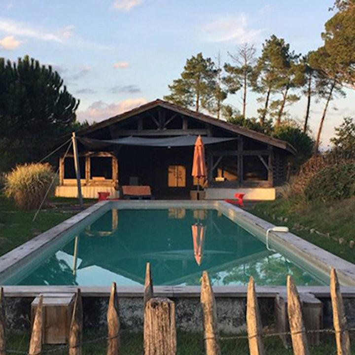 Louez un gite avec piscine dans les Landes