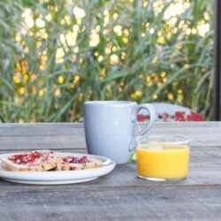 Petit déjeuner à la Canopée dans les Landes