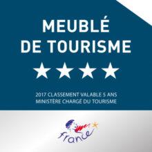 Meublé de Tourisme 4 étoiles - Landes