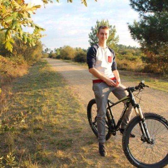 Balade en vélo à Arjuzanx dans les Landes