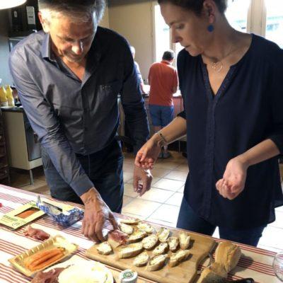 Atelier cuisine pour séminaire dans le Sud Ouest