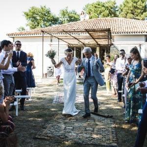 Cérémonie de mariage dans un lieu atypique