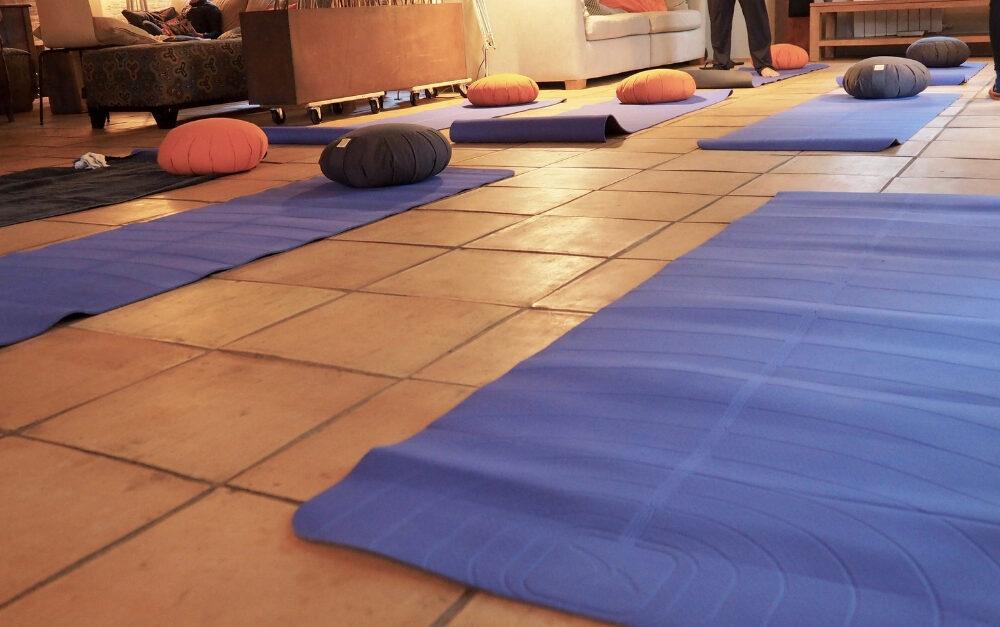 Yoga à la canopée des Landes